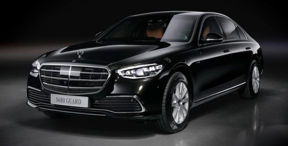 бронеавтомобиль Mercedes-Benz S-Class Guard