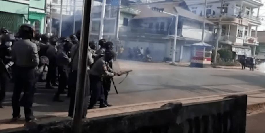 протести в М'янмі, військовий переворот в М'янмі