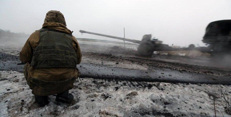 АТО в Донбассе / Фото: Facebook.com/sergei.loiko