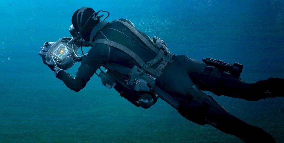 перша в світі система підводної навігації