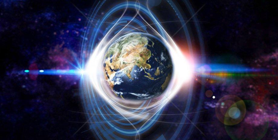 Земля, Інтернет, Сонце, магнітна буря