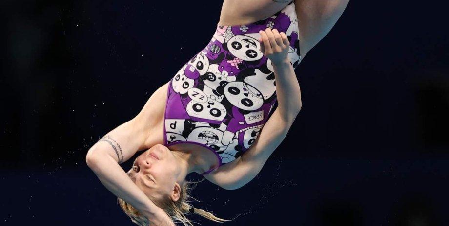 София Лыскун, прыгунья в воду София Лыскун