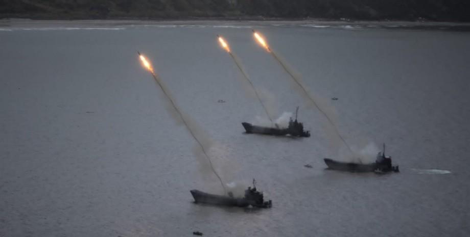 вчення тихоокеанського флоту
