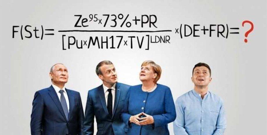 Что такое Формула Штайнмайера, Путин, Меркель, Зеленский, Макрон
