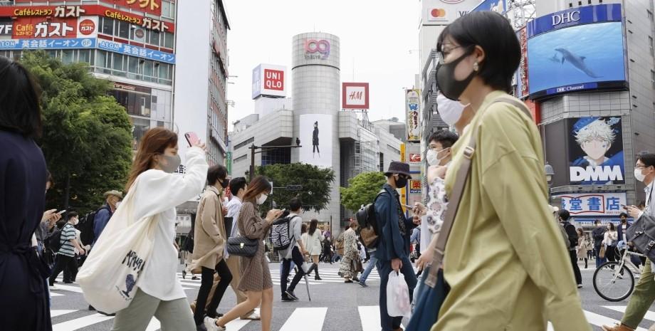 Япония, коронавирус, карантин,