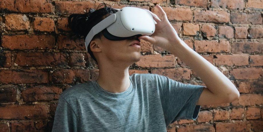 VR, віртуальна реальність