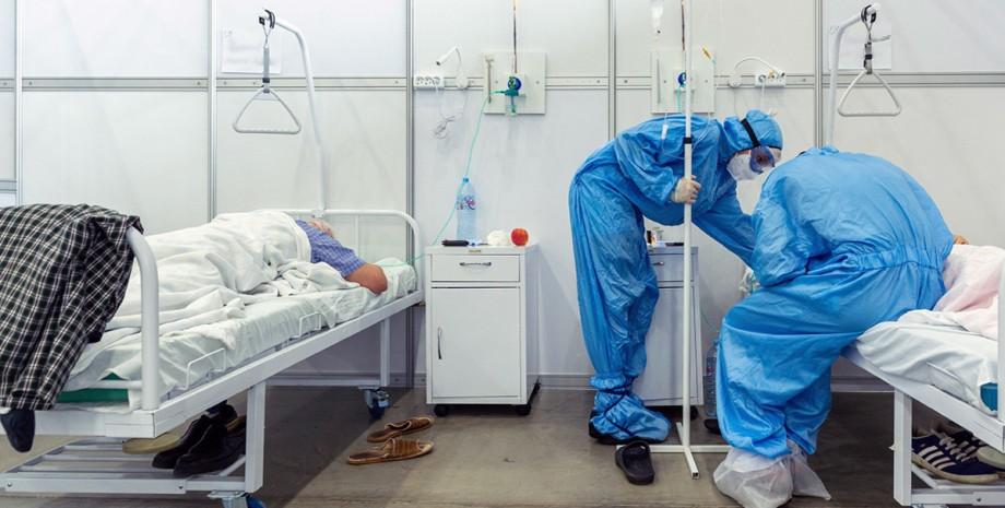 коронавірус, лікарі, пацієнти, фото