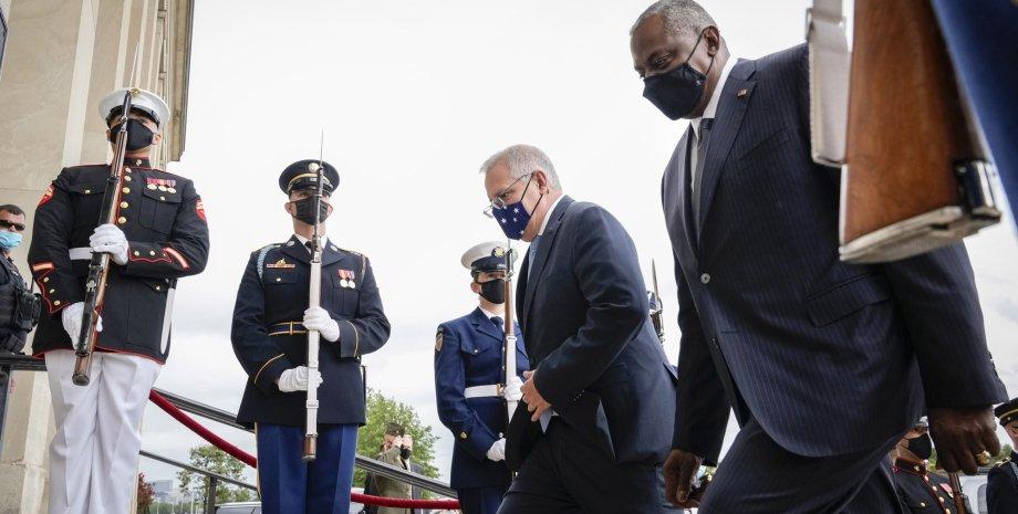 Прем'єр Австралії Моррісон в США