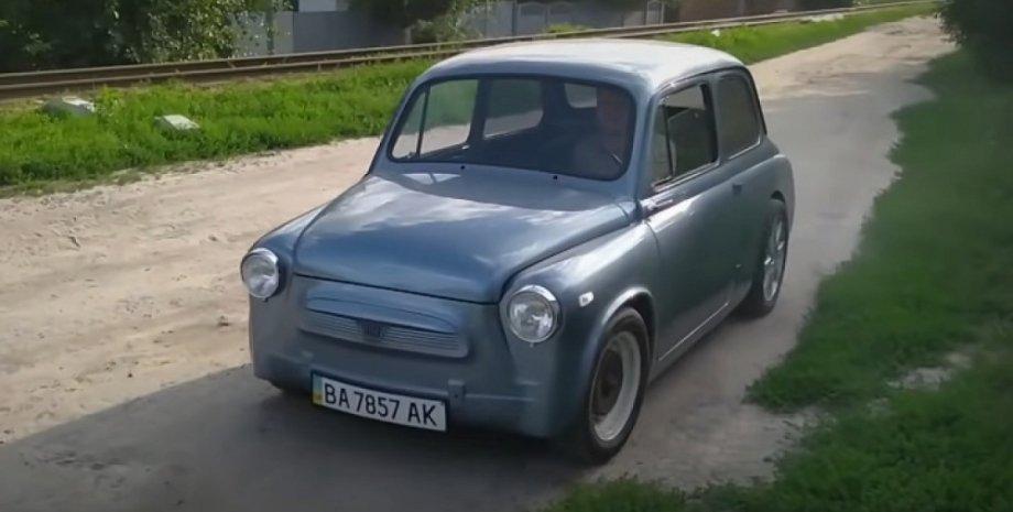 ЗАЗ-965, горбатый Запорожец, электромобиль Запорожец, гоночный Запорожец, Электрокар ЗАЗ