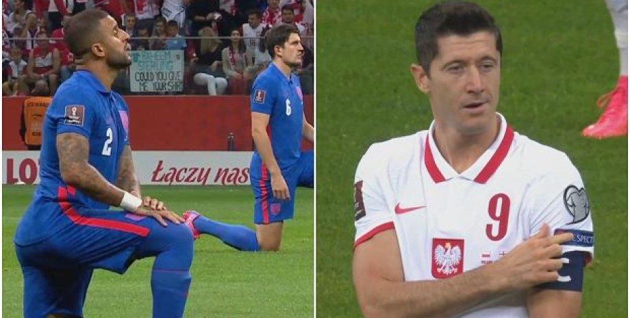 Сборная Англии, сборная Польши