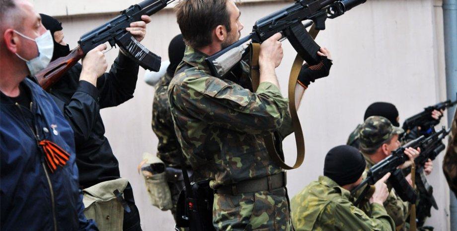 Боевики в Донбассе / Фото: radio24.ua