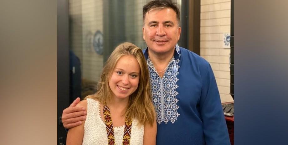 Ліза Ясько і Саакашвілі