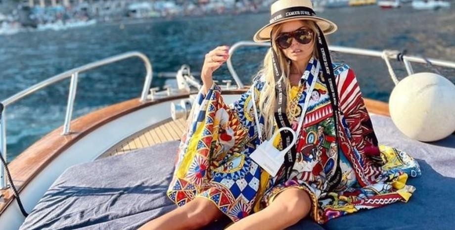 Эрика Пелосини, яхта, модель, фото
