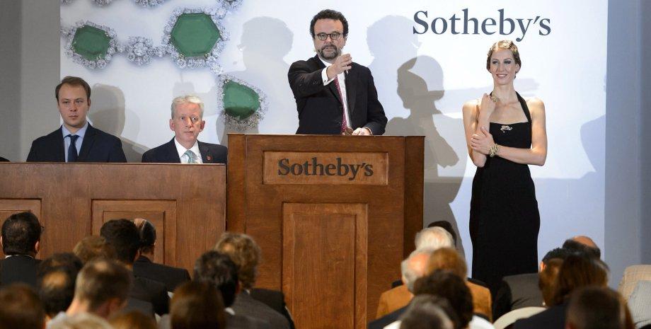 Аукцион сотбис, аукцион Sotheby`s