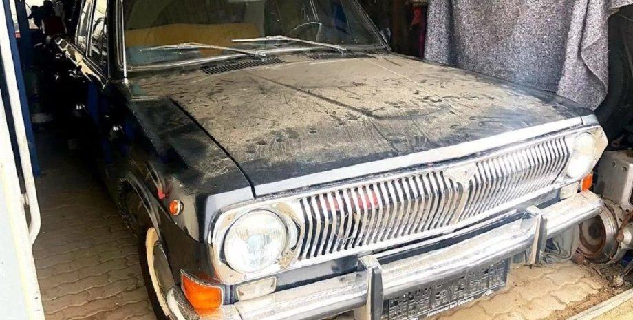 коллекция авто, ретро-авто, заброшенные авто, Волга ГАЗ-24
