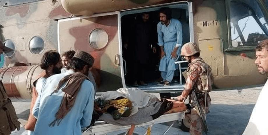 пакистан, землетрясение, люди, фото