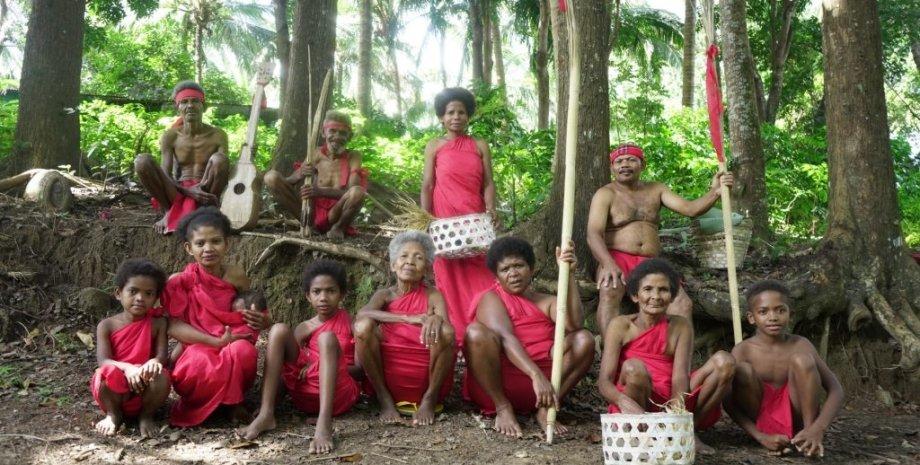 аета магбукон, люди, дерева, фото