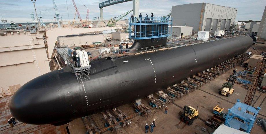 приобретение атомных подлодок австралией