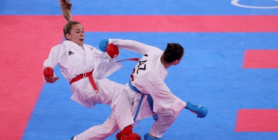 Анжелика Терлюга, Олимпиада 2020, кумите до 55 кг