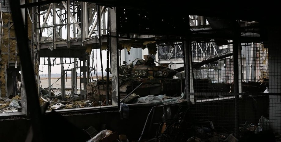 "Аэропорт ""Донецк"" / Фото: facebook.com/sergei.loiko"