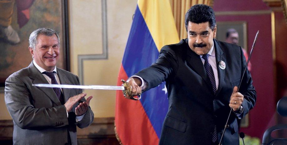 Николас Мадуро (справа) / Фото: Getty Images