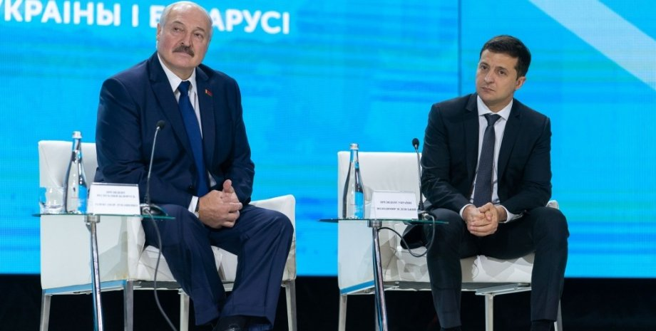 Александр Лукашенко и Владимир Зеленский / Фото: president.gov.ua