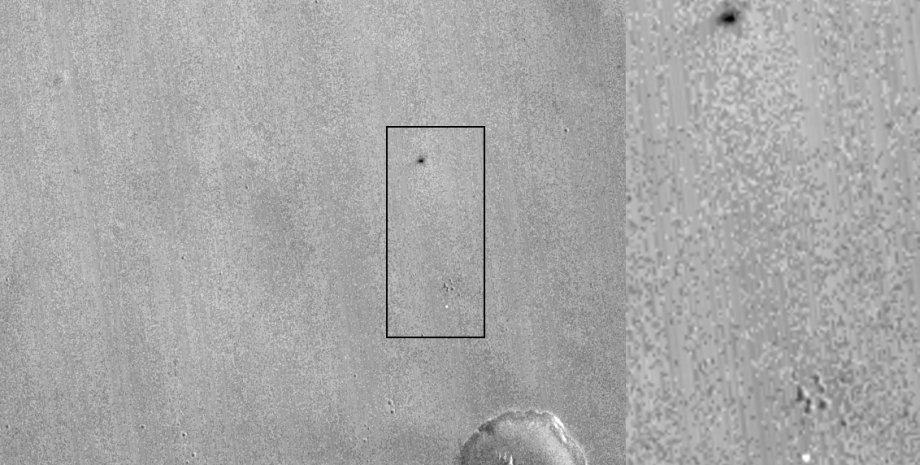 Модуль Schiaparelli на Марсе / Фото: NASA