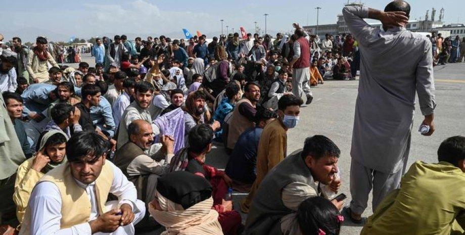 афганистан, эвакуация, корь, сша