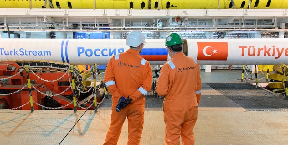 Турецкий поток, газ, труба,