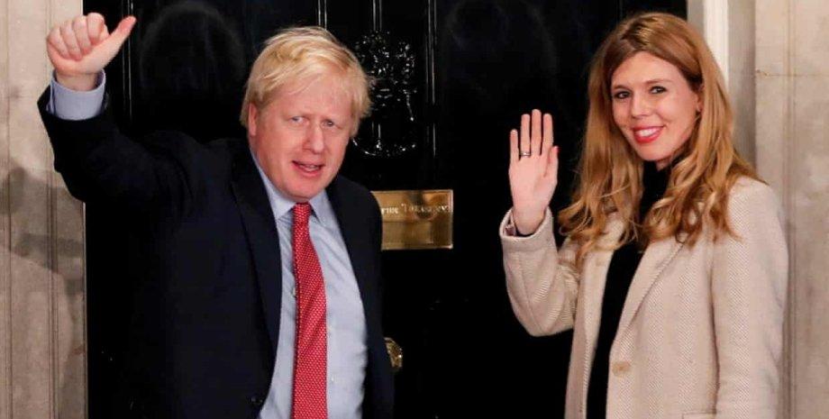 Борис Джонсон и Кэрри Симондс/Фото: The Guardian