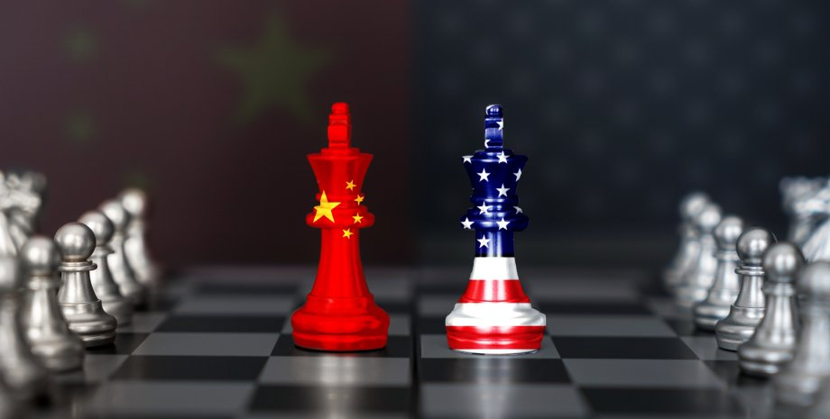 шахівниця, китай, сша, холодна війна