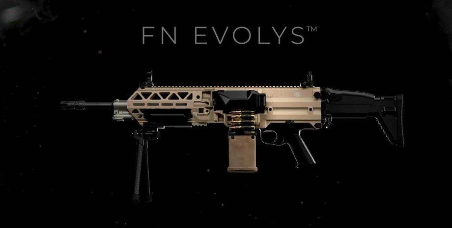 новый пулемет бельгии