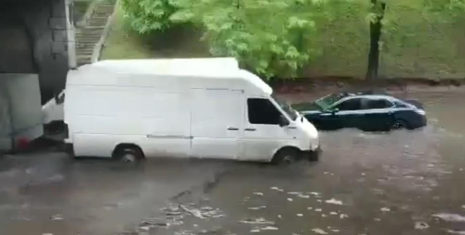 Дніпро, зливи, затоплення,