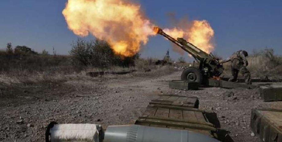 Обстрелы в районе Широкино /Фото из открытого источника