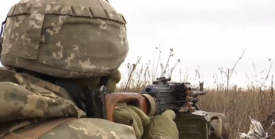 Донбасс, обстрел, война
