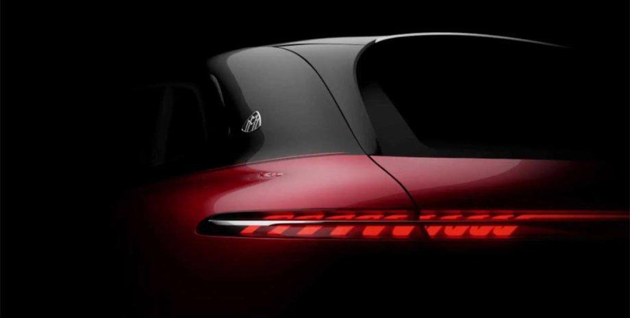 Первое фото электрического Mercedes-Maybach