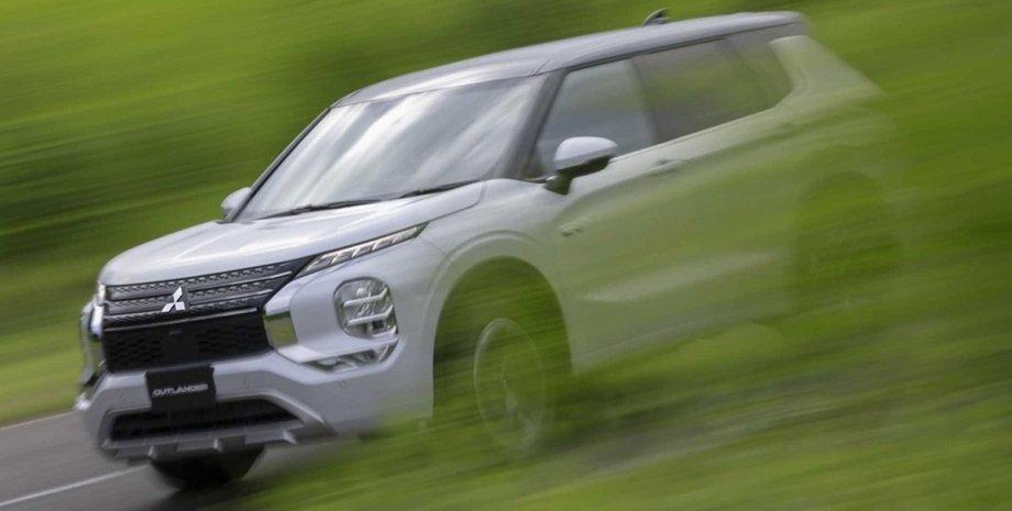 Mitsubishi Outlander PHEV, Mitsubishi Outlander PHEV 2022, новый Mitsubishi Outlander, Mitsubishi Outlander 2022