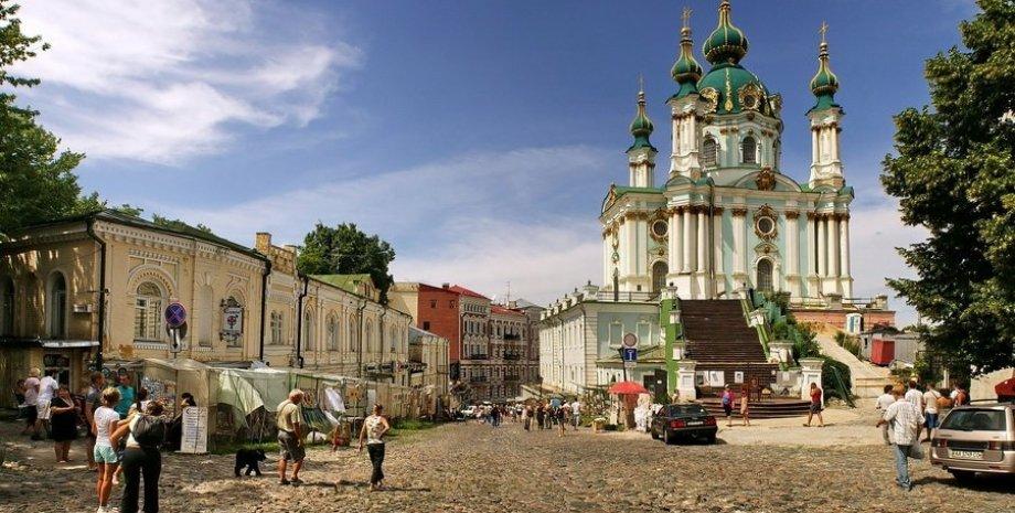 Андреевский спуск в Киеве / Фото: map.kiev.ua