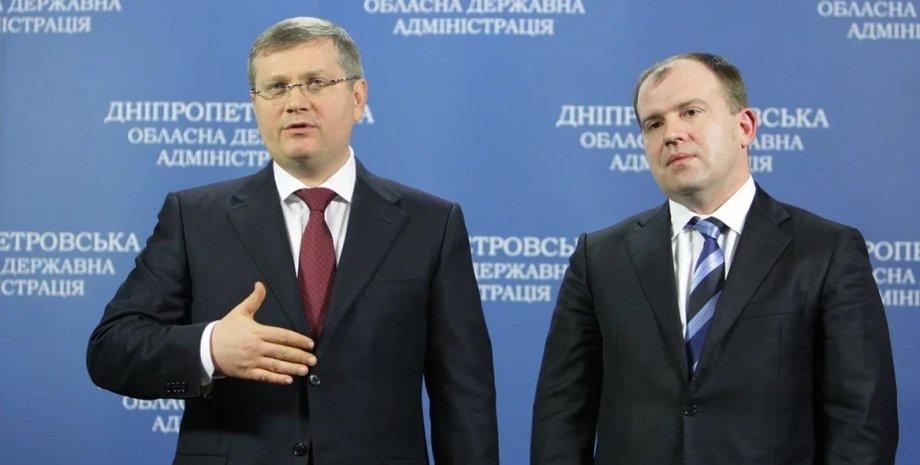 Александр Вилкул и Дмитрий Колесников / Фото: УНИАН