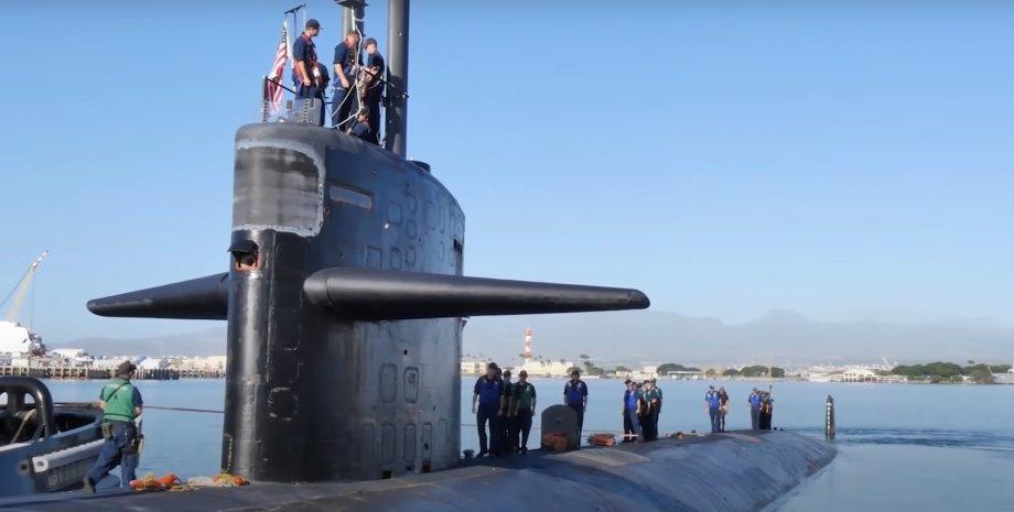 Субмарина, США, подлодка