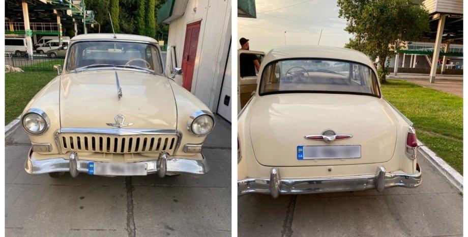 """ГАЗ-21, """"Волга"""", ГАЗ-21 1961 года"""