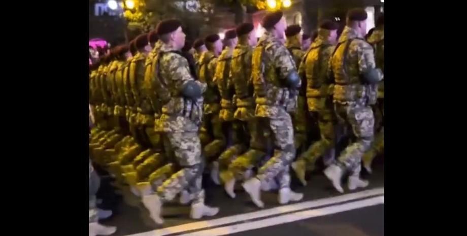 Киев, парад, репетиция,