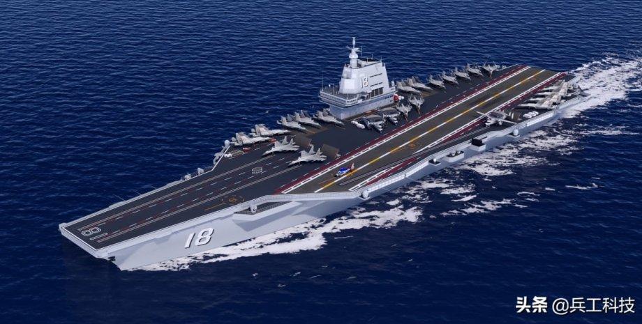 """китайський авіаносець """"Type 003"""""""