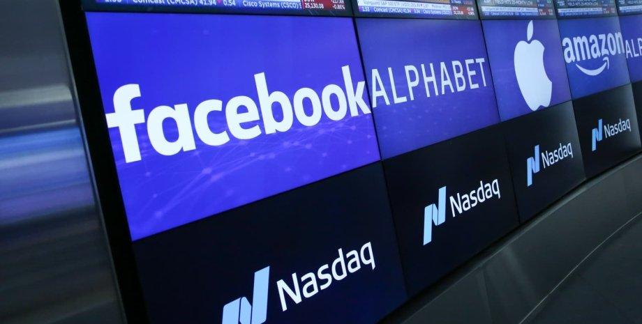 Facebook, NASDAQ, акции, сбой