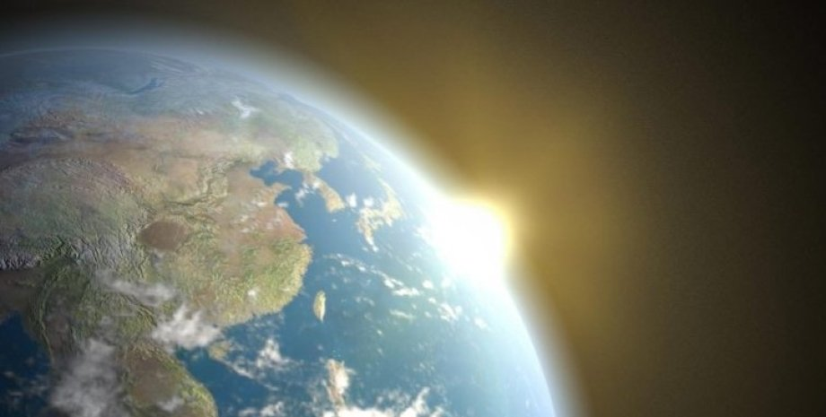 Земля, Солнце