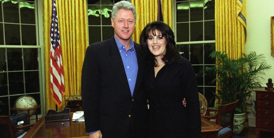 Білл Клінтон, Моніка Левінські, секс-скандал