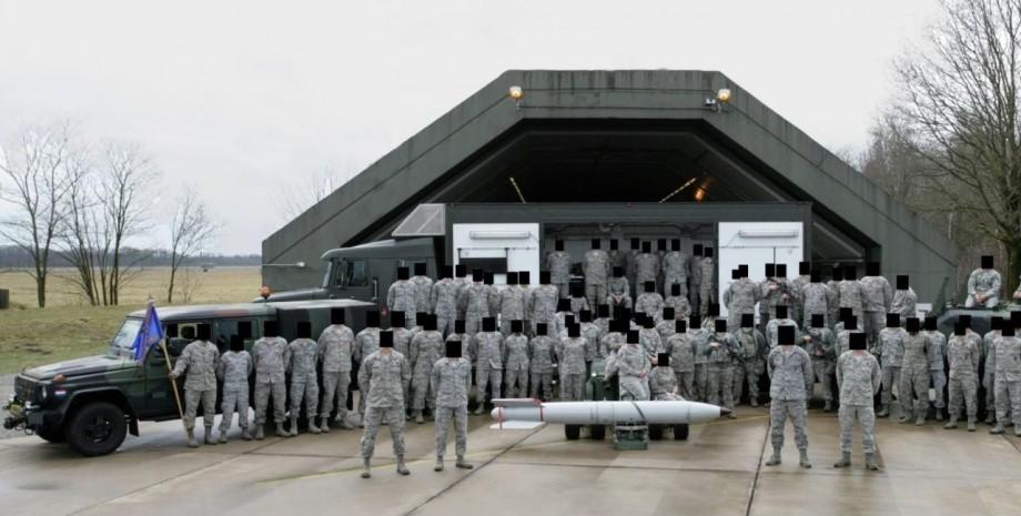 сша, солдаты, оружия, ядерное, европа, фото