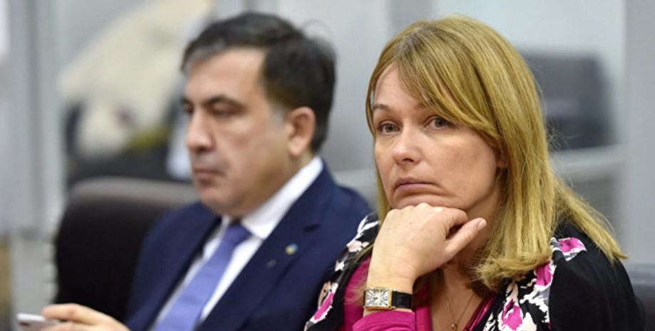 "Жена Саакашвили отреагировала на роман мужа со ""слугой народа"" Ясько"