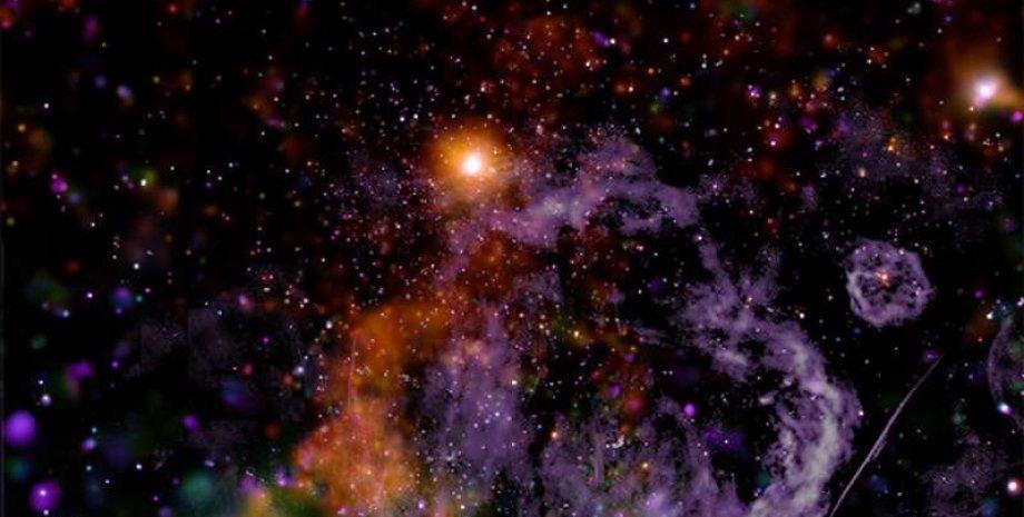 Млечный Путь, космос, звезды, фото