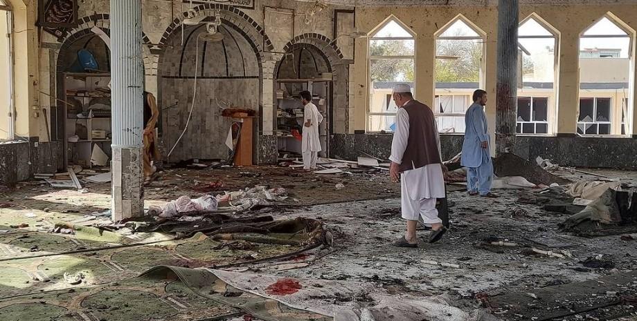 Афганістан, мечеть, теракт, фото